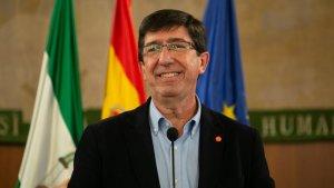 El líder de Ciutadans (Cs) a Andalusia, Juan Marín
