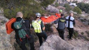 El operativo de emergencias solamente pudo rescatar el cadáver