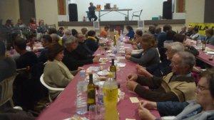 El poble, d'uns 150 habitants, ha recollit un total de 1.365 € que aniran destinats a la campanya de lluita contra el càncer de La Marató de TV3