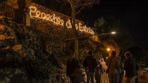 El preciós Pessebre dels Estels a Masia Castelló