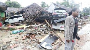 El tsunami ha deixat un panorama de destrucció
