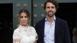 Elena Tablada y su actual marido Javier Ungría