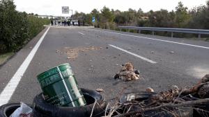 Els CDRs van tallar l'autopista AP_7 durant aproximadament quinze hores