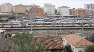Els fets s'han produït a les vies de l'estació de Sant Vicenç de Calders.