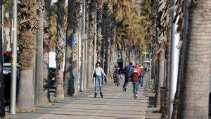 Els patinets elèctrics circularan per la calçada a Tarragona.