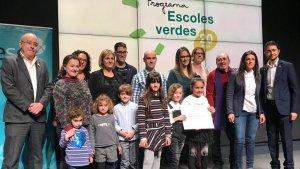 En la categoria d'actuació singular que afavoreixi la conservació de la biodiversitat el jurat ha premiat l'Escola Cor de Maria de Valls
