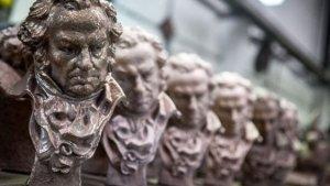 Estatuilla del premio Goya