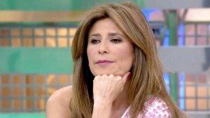 Gema López durante el último programa de 'Sálvame'