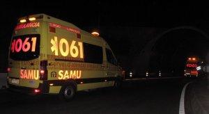 Imagen de archivo de dos ambulancias del SAMU en Baleares