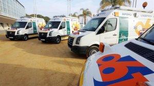 Imagen de archivo de los servicios de Emergencia de Andalucía.