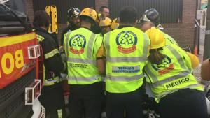 Imagen de archivo de los Servicios de Emergencias de Madrid