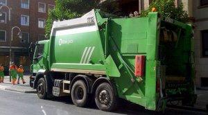 Imagen de archivo de un camión de la basura de Bilbao
