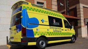 Imagen de archivo de una ambulancia de Emergencias Sanitarias-Sacyl de Castilla y León.