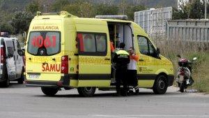 Imagen de archivo de una ambulancia en Mallorca