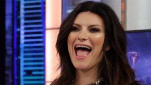 Imagen de Laura Pausini en el programa