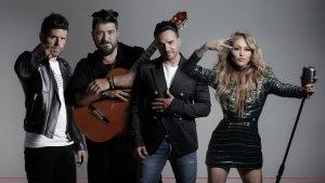 Imagen de los cuatro 'coaches' de 'La Voz'