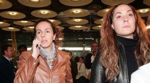 Imagen de Rosario Mohedano junto a Rocío Carrasco