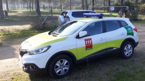Imagen de un vehículo del Servicio de Emergencias 112 Andalucía