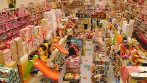 Imagen de una juguetería en el inicio de la campaña de Navidad