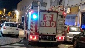 Imagen de uno de los operativos de rescate desarrollados por los cuerpos de Bomberos