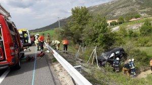 Imagen del lugar del accidente.