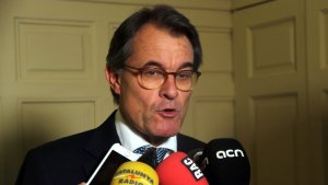 Imatge d'arxiu de l'expresident Artur Mas.