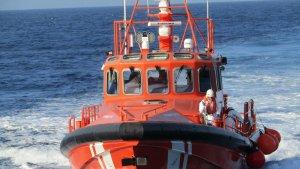 Imatge d'arxiu d'una embarcació de Salvament Marítim