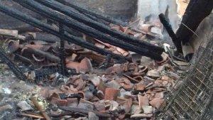 Imatge de la planta de l'edifici afectada per l'incendi d'aquest matí