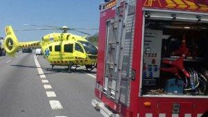 Imatge de l'helicòpter del sem