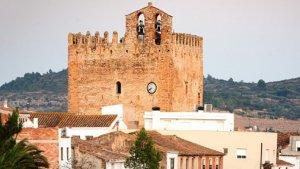 Imatge del poble de la Galera, a la comarca del Montsià
