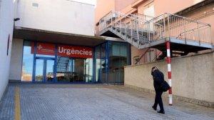 Imatge exterior de la façana de la consulta d'Urgències de l'Hospital de Palamós
