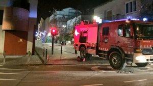 Incendi al bar del Casal aquest dijous al vespre
