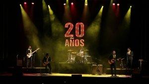 Jarabe de Palo damunt l'escenari de la Tàrraco Arena Plaça de Tarragona en el concert de comiat dels 20 anys.