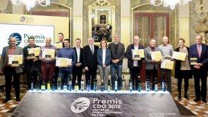 La Diputació de Tarragona i l'Ajuntament de Reus han guardonat la Cooperativa Falset-Marçà, Unió origen SCLL Molí Terra Alta i Olis Solé