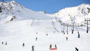 La estación de Grandvalira presenta un buen aspecto de nieve en el sector de Pas de la Casa