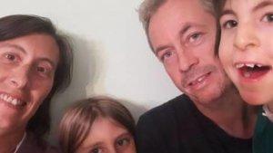 La família Mas, a la que se li ha retirat l'ajut escolar personalitzat