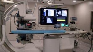 La nova sala d'hemodinàmica del Joan XXIII s'obrirà la setmana vinent.