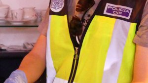 La Policia Nacional ha decomissat diversa documentació i 5.500 euros en metàl·lic