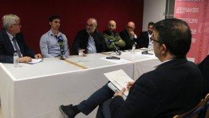 La taula de restauradors del III Congrés Català de la Cuina