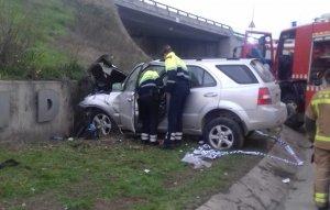L'accident ha tingut lloc en una rotonda de la LL-11, al terme municipal de Lleida.