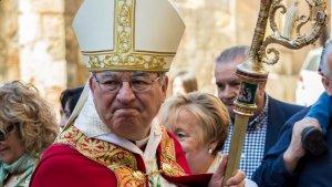 L'arquebisbe Jaume Pujol.