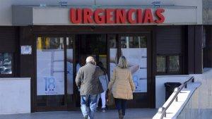 Las instalaciones de Urgencias donde realizó la visita Paula Echevarría