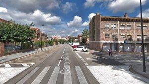 L'atropellament va tenir lloc al carrer del Pare Manyanet a l'altura de l'avinguda dels Castells.