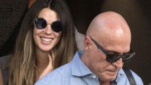 Laura junto a su padre Kiko