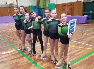 L'equip del Cerdanyola CH que va competir a Corbera de Llobregat