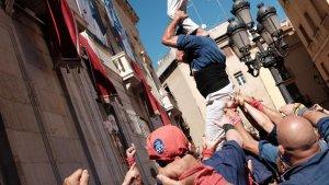 Les imatges de la Baixada de Pilars Caminant a Tarragona