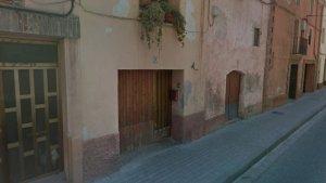 L'incendi ha estat al número 11 del carrer Muralla del Carme de Valls