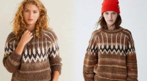Mango y Pull&Bear, coinciden en su última colección con un jersey casi idéntico