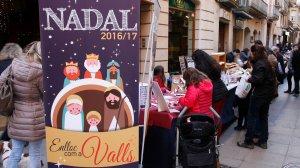 Mercat de Nadal, fira de capons, aviram i motius nadalencs
