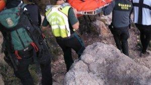 Mor un senderista després de patir un accident en una zona de muntanya prop d'Onil
